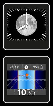 Lunar Phase for SmartWatch poster
