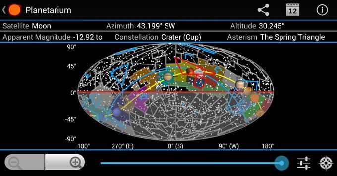 Planetarium for SmartWatch screenshot 4