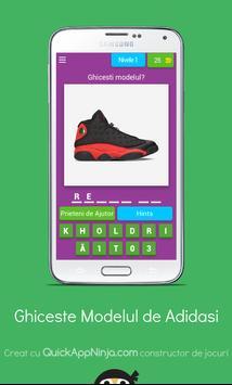 Quiz: Ghiceste modelul adidasului poster