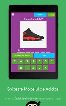 Quiz: Ghiceste modelul adidasului screenshot 14