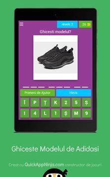 Quiz: Ghiceste modelul adidasului screenshot 16
