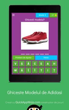 Quiz: Ghiceste modelul adidasului screenshot 17
