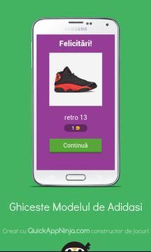 Quiz: Ghiceste modelul adidasului screenshot 1