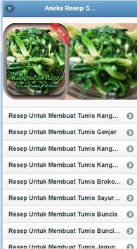 "Resep Sayur Tumis ""PILIHAN"" OK screenshot 1"