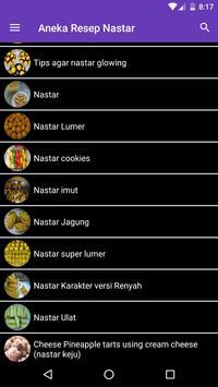 Aneka Resep Kue Nastar screenshot 11