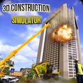 Construction Mega 3D Demolitions icon