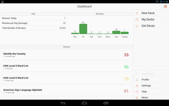 AnkiApp स्क्रीनशॉट 9