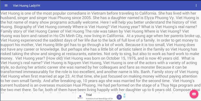 Viet Huong Fongemie poster