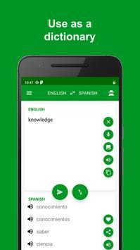 Spanish - English Translator تصوير الشاشة 4