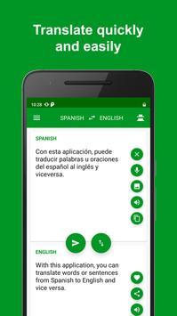 Spanish - English Translator تصوير الشاشة 3