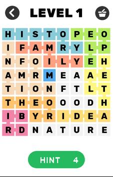 Word Search Hard poster