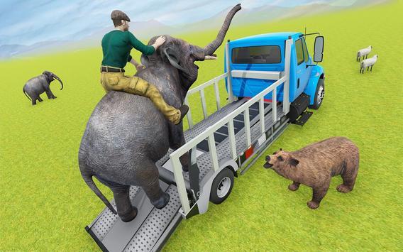 Animal Zoo Transport Simulator captura de pantalla 3