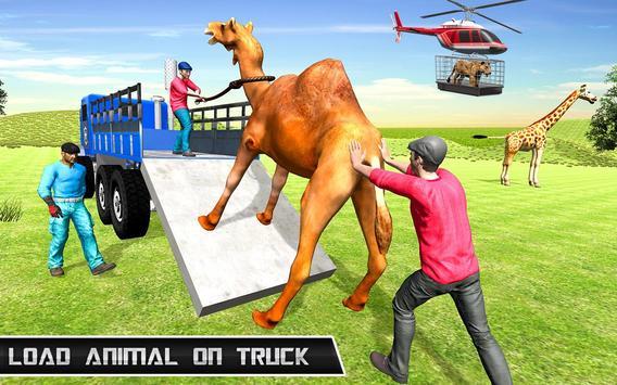 Animal Zoo Transport Simulator captura de pantalla 1