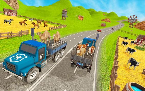Animal Zoo Transport Simulator captura de pantalla 23