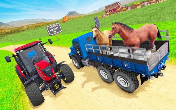 Animal Zoo Transport Simulator captura de pantalla 2