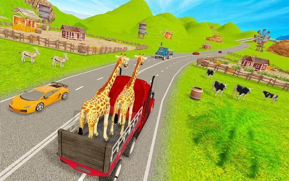 Animal Zoo Transport Simulator captura de pantalla 4
