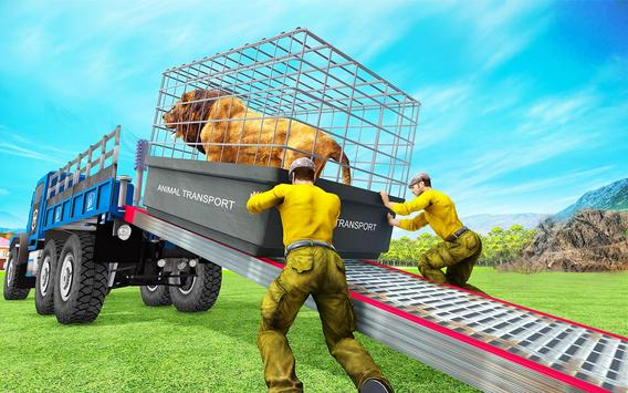 Animal Zoo Transport Simulator captura de pantalla 13
