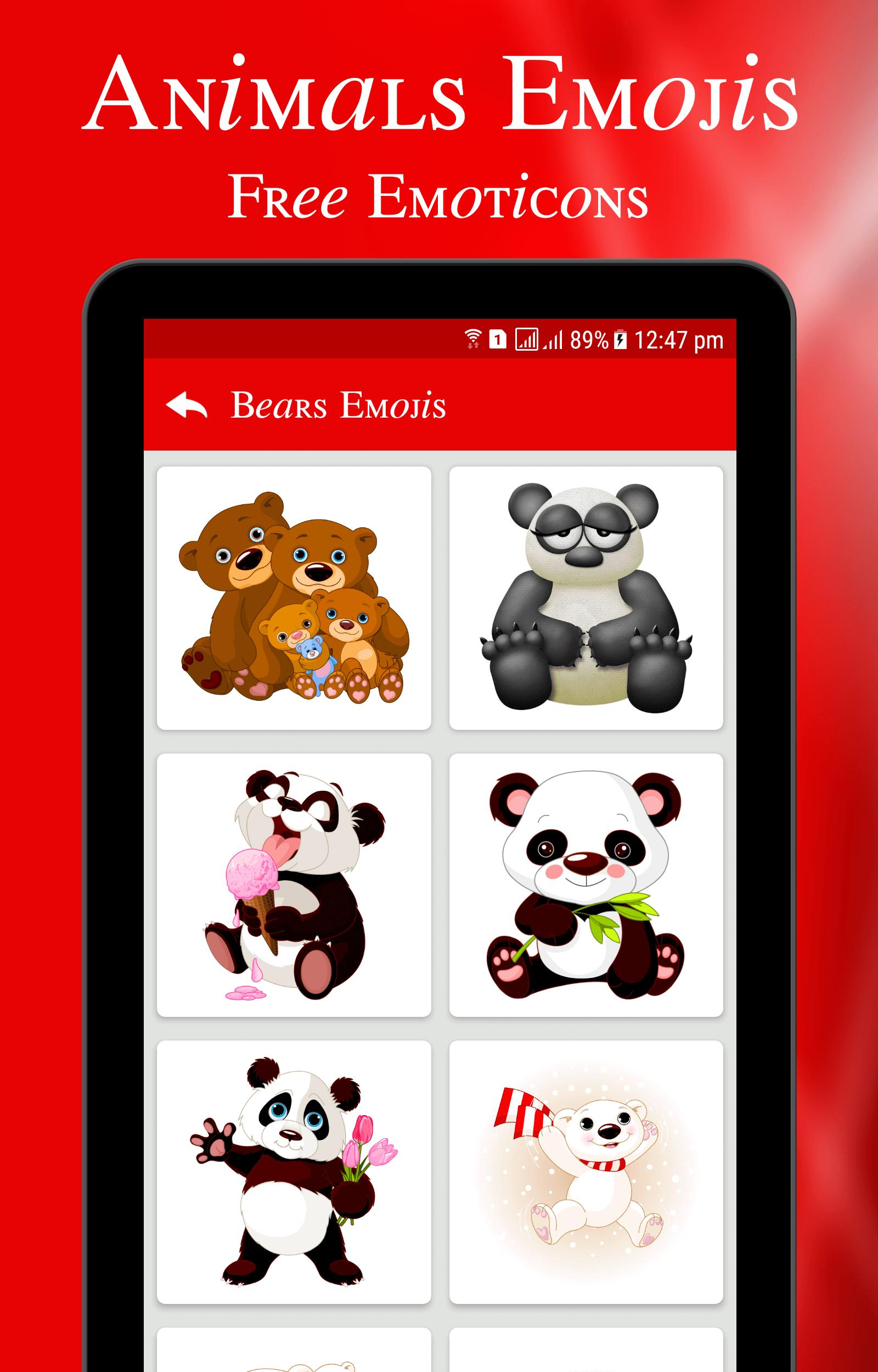 Animal Emojis Free Emoticons Stickers For Android Apk
