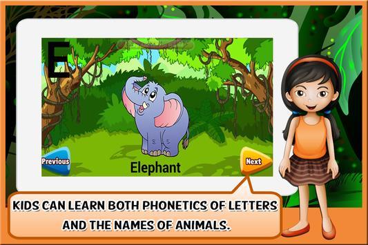 Animal Alphabet for Kids screenshot 17