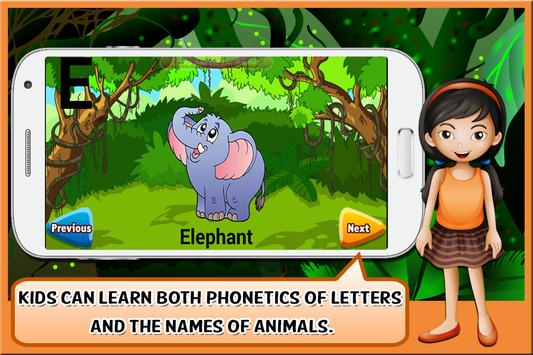 Animal Alphabet for Kids screenshot 1