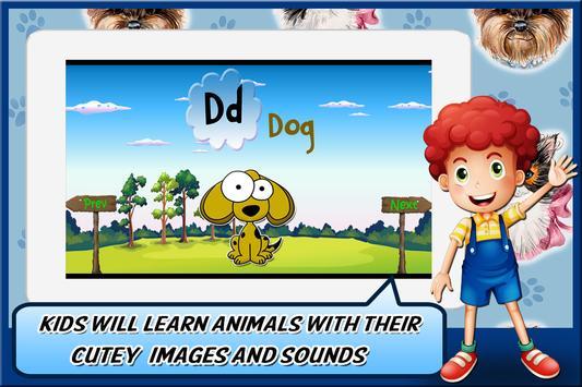 Animal Alphabet for Kids screenshot 8