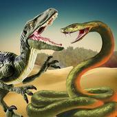 Angry Anaconda vs Dinosaur Simulator 2019 icon