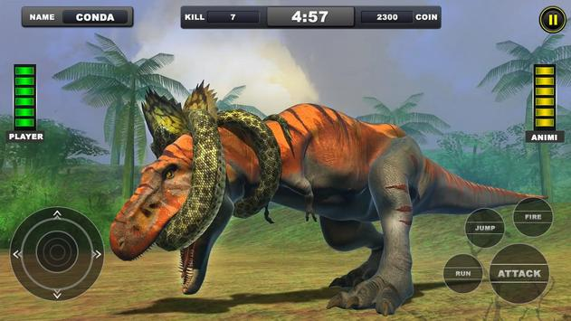 Angry Anaconda vs Dinosaur Simulator 2019 poster