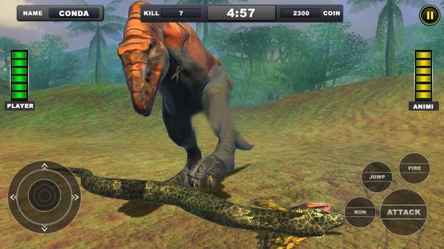 Angry Anaconda vs Dinosaur Simulator 2019 screenshot 15