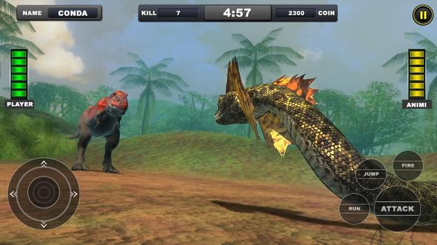 Angry Anaconda vs Dinosaur Simulator 2019 screenshot 11