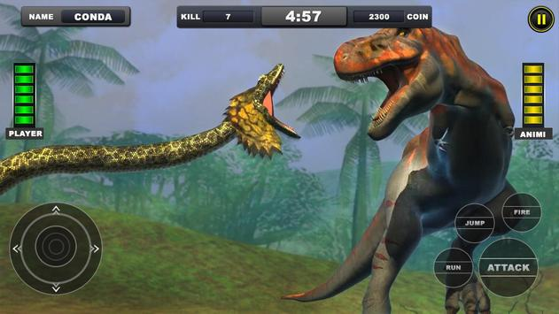Angry Anaconda vs Dinosaur Simulator 2019 screenshot 5