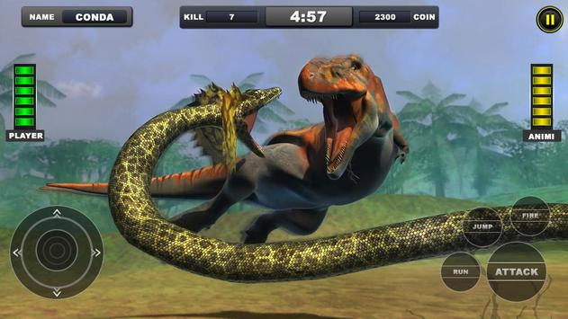 Angry Anaconda vs Dinosaur Simulator 2019 screenshot 8