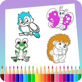 Animal Coloring Book icon
