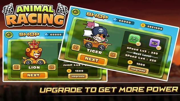 Animals Buggy Racing screenshot 1