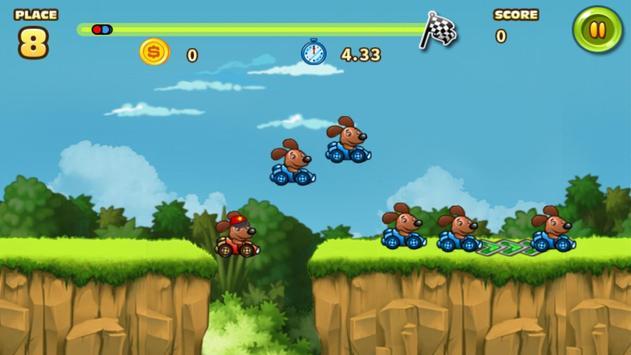 Animals Buggy Racing screenshot 4