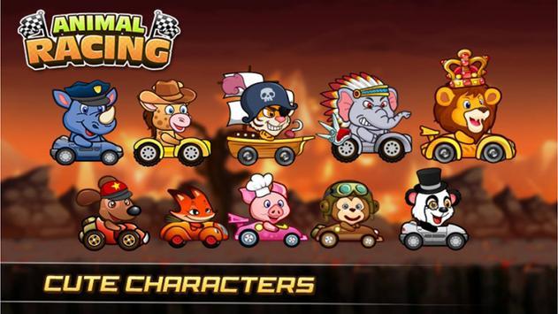 Animals Buggy Racing screenshot 6