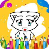 Coloring Chibi Animals icon