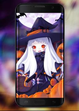 Anime Halloween Wallpaper screenshot 2