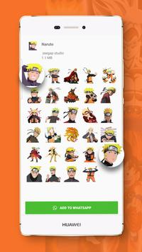 Anime Stickers – WAStickerApps for WhatsApp screenshot 2