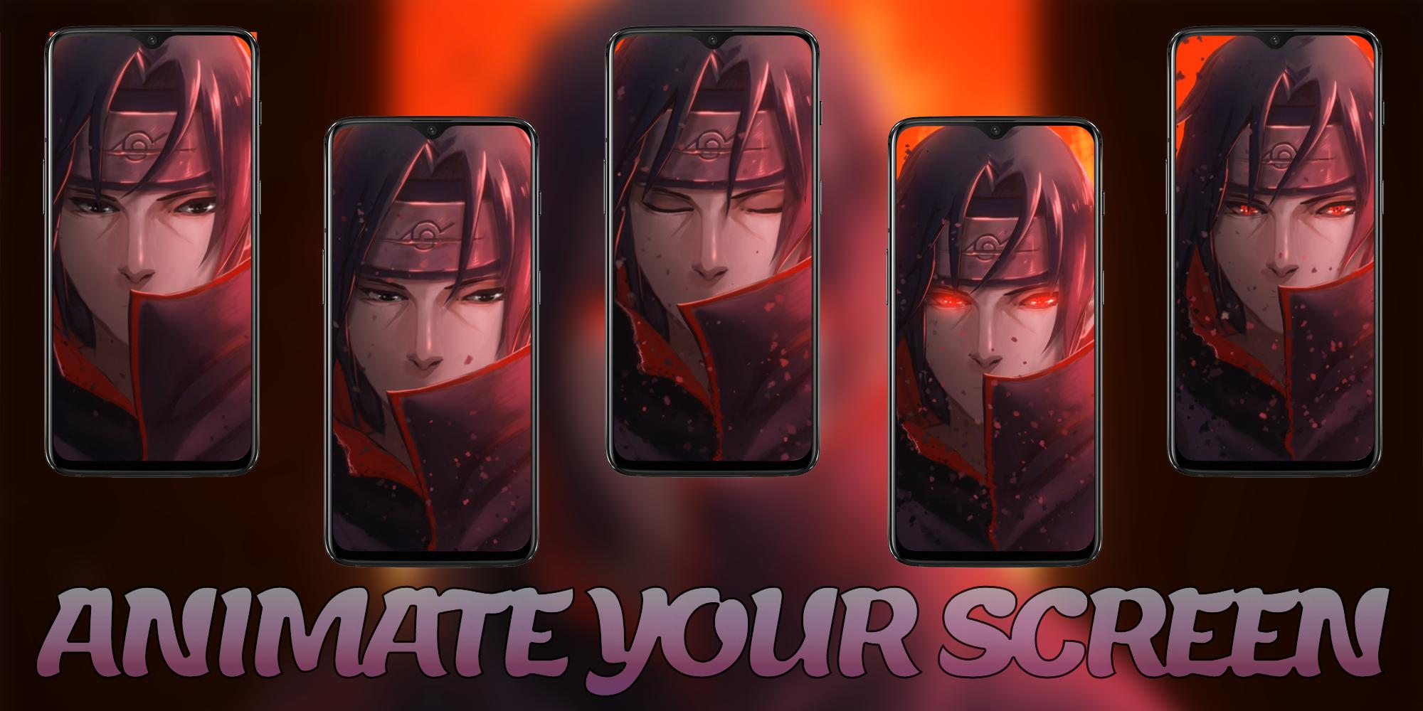 Itachi Uchiha Anime Live Wallpaper For Android Apk Download