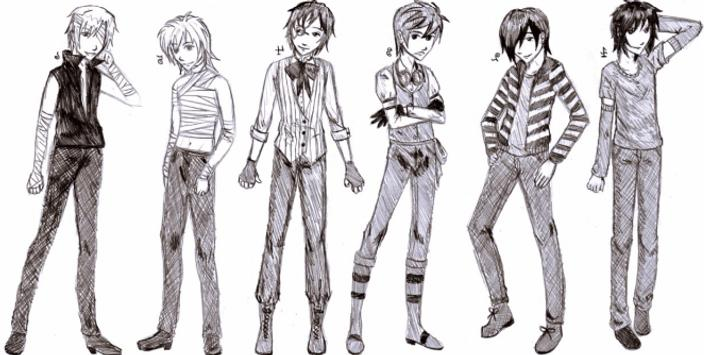 Drawing Anime Boy screenshot 6