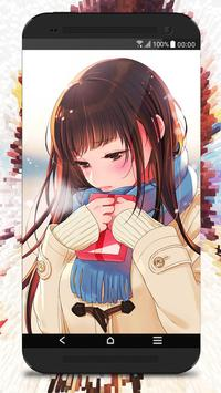 Anime Girl Wallpaper screenshot 3