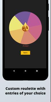 Randomize: Roulette,Coin flip,Dice roll & more screenshot 1
