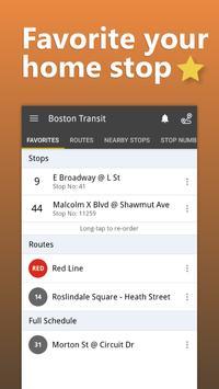 Boston Transit capture d'écran 6