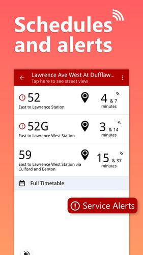 Android用「my Ttc Toronto Transit Bus Subway Tracker Apk3