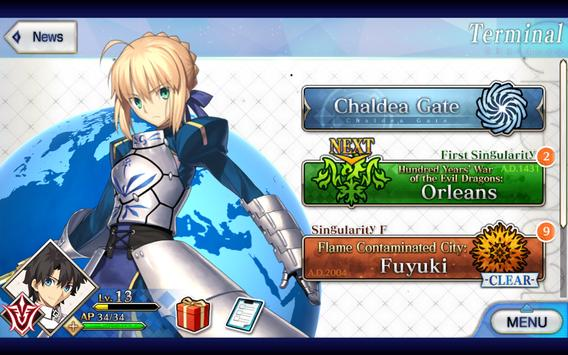 Fate/Grand Order (English) captura de pantalla 17