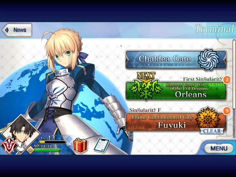 11 Schermata Fate/Grand Order (English)