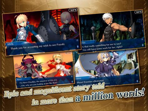 Fate/Grand Order (English) captura de pantalla 7