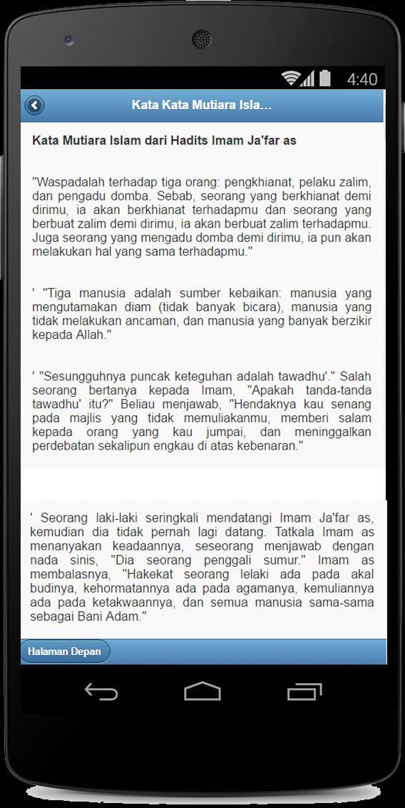 Kata Mutiara Islam Für Android Apk Herunterladen