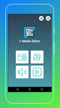 1-Media Editor poster