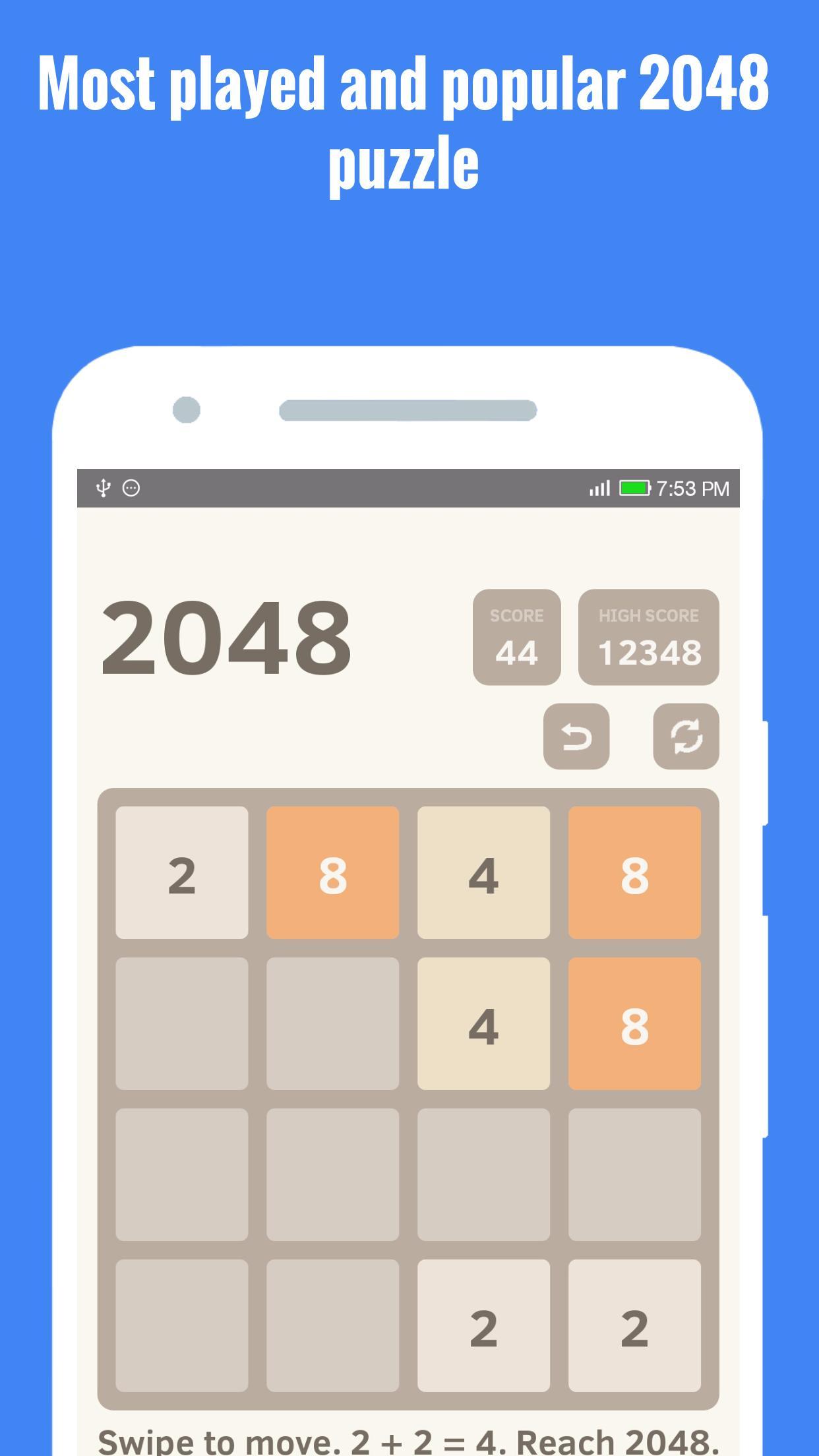 2048: классическая версия